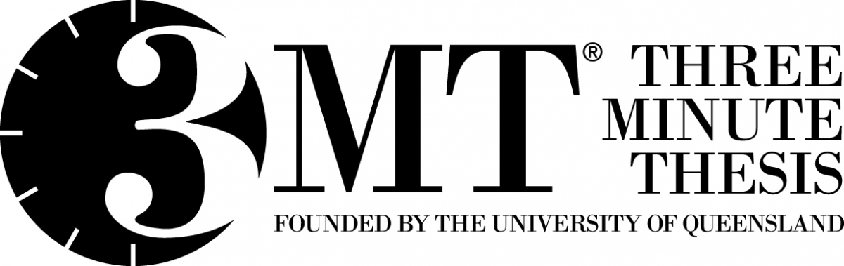 Student registering for Three Minute Thesis