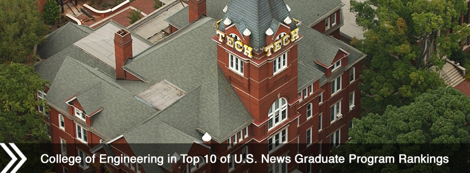 College of Engineering in Top 10 of U.S. News Graduate Program Rankings
