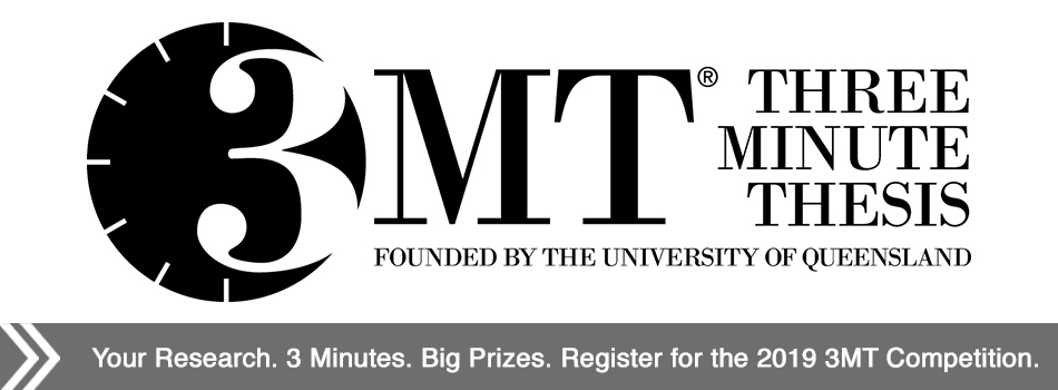 Register for the 2019 3MT Competition