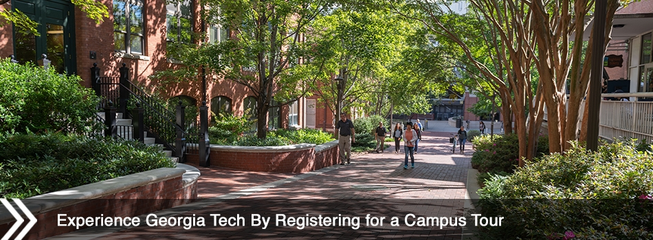 Experience Georgia Tech By Registering for a Campus Tour