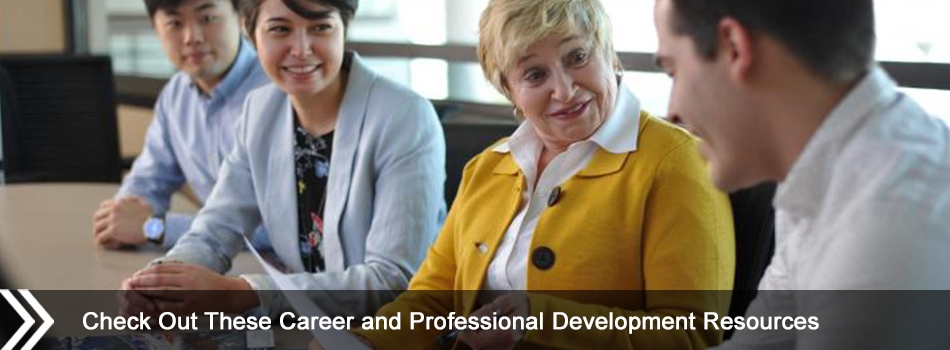 Check Out These Career and Professional Development Resources