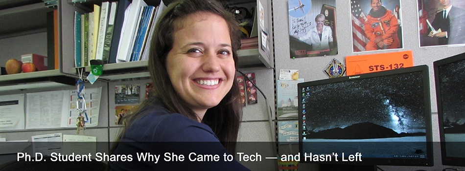 Ph.D. Student Shares Why She Came to Tech — and Hasn't Left