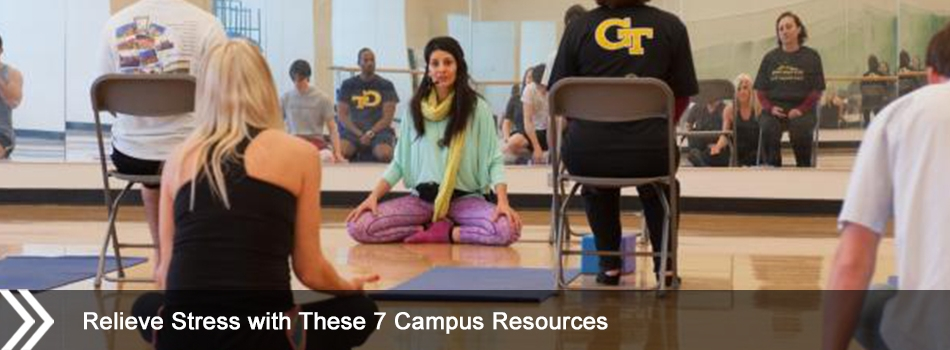 Relieve Stress with These 7 Campus Resources