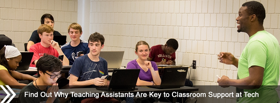 Find Out Why Teaching Assistants Are Key to Classroom Support at Tech