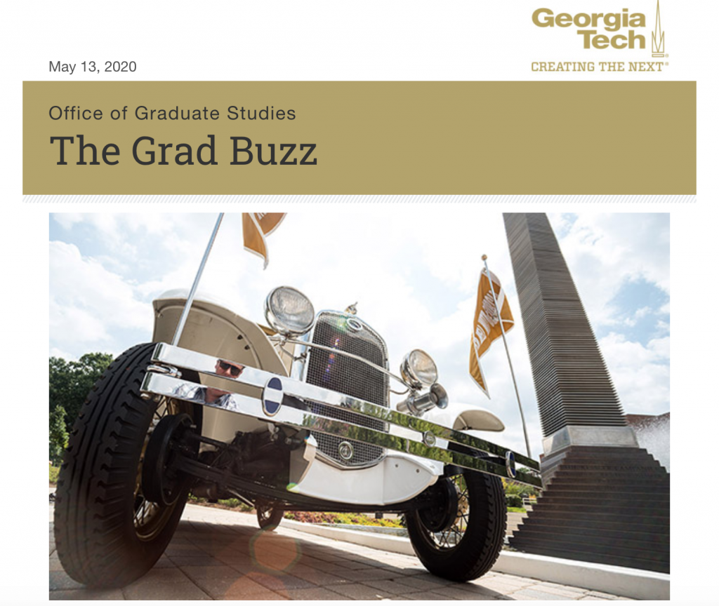 The Gradd Buzz eNewsletter