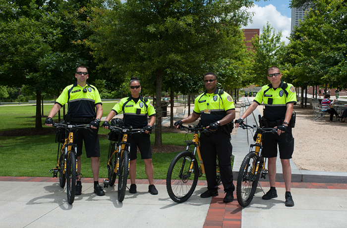 image of Georgia Tech police officers