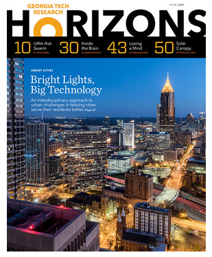 Georgia Tech's Research Horizons magazine cover